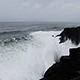 Waves Crashing On Black Lava Rock Shore Depoe Bay Oregon - VideoHive Item for Sale