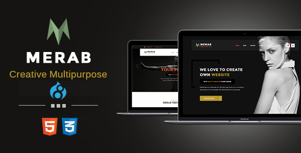 Merab – Creative Multipurpose Drupal 8 Theme
