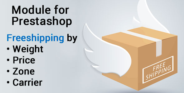 Freeshipping, setup your free shipping by weight, price, carrier and zone - CodeCanyon Item for Sale