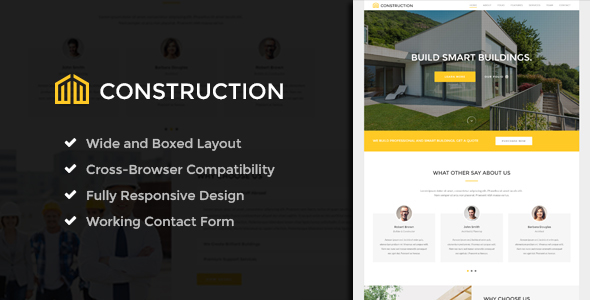 Construction – Ultimate Construction Template