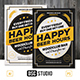 Happy Beer Hours Flyer - GraphicRiver Item for Sale