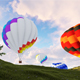 Hot Air Balloon 2K - VideoHive Item for Sale