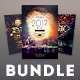 New Year Flyer Bundle Vol.06 - GraphicRiver Item for Sale