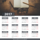 2017 Calendar - GraphicRiver Item for Sale