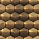Gold Hexagon Pattern