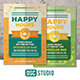 Happy Hours Flyer Vol 2 - GraphicRiver Item for Sale