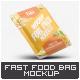 Instant Food Foil Bag Mock-Up - GraphicRiver Item for Sale