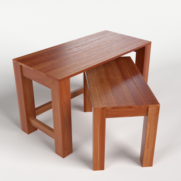 Small side tables - 3DOcean Item for Sale