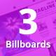 Bundle of 3 Multipurpose Billboard Banners - GraphicRiver Item for Sale