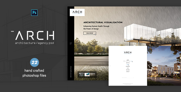 Arch – Architecture & Agency PSD