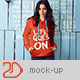 Hoodie Mock-Up / Female - GraphicRiver Item for Sale