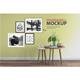 Frame & Wall Mockup 03 - GraphicRiver Item for Sale