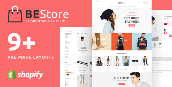 BEStore - Shopify theme - Fashion Shopify