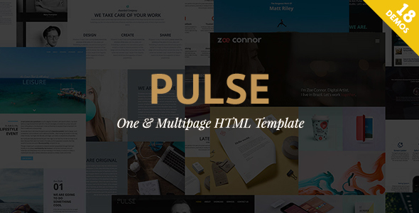 Pulse – Premier HTML Template