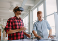 Young developers improving virtual reality glasses