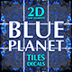 Blue Planet Game Map Tiles and Decals - GraphicRiver Item for Sale
