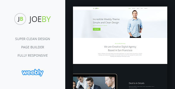 Joeby | Responsive Multipurpose Weebly CMS Theme - Weebly CMS Themes