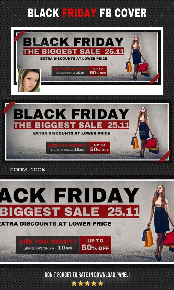 Black Friday Facebook Timeline - Facebook Timeline Covers Social Media