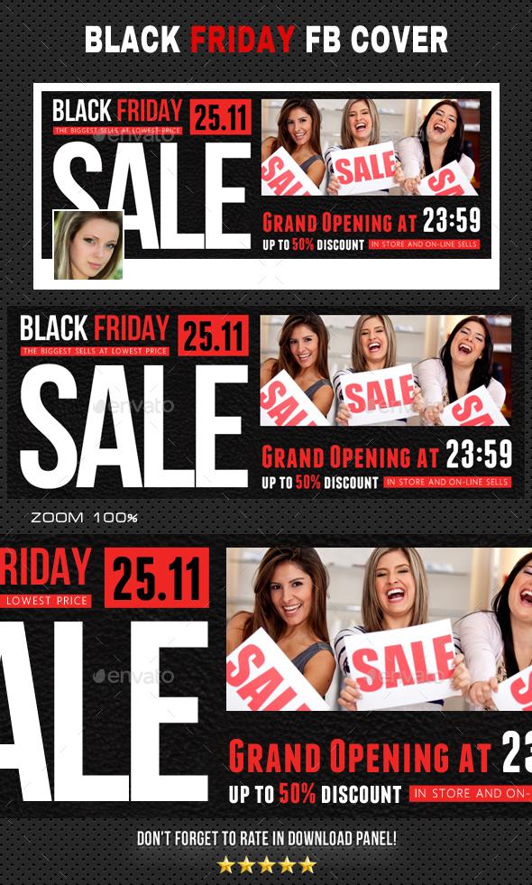 Black Friday Facebook Timeline 02 - Facebook Timeline Covers Social Media