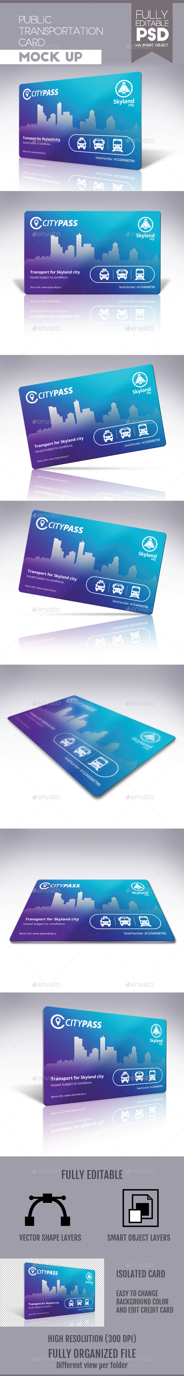 Public Transportation Card - Miscellaneous Print