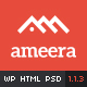 Ameera - Clean and Minimal WordPress Blogging Theme - ThemeForest Item for Sale