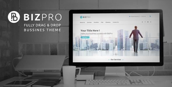 BizPro Business - Business Theme + RTL - Business Corporate