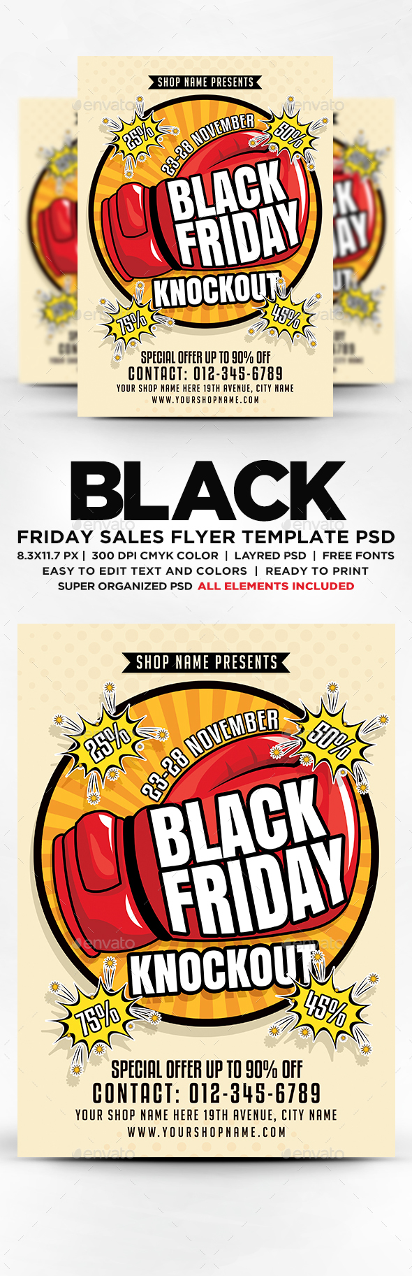 Black Friday Knockout Sales Flyer