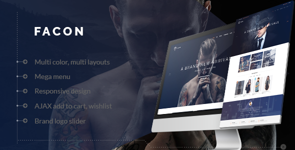 Facon - Fashion Responsive Shopify Theme - Fashion Shopify