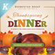 Thanksgiving Dinner Flyer Templates - GraphicRiver Item for Sale