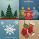 Retro Vintage Christmas Cards/Invitation Pack - GraphicRiver Item for Sale