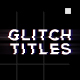 Modern Glitch Titles - VideoHive Item for Sale