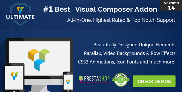 Ultimate Addons for  Prestashop Visual Composer - CodeCanyon Item for Sale