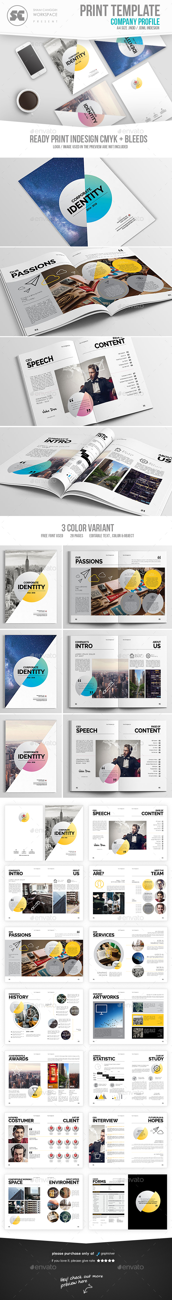 Modern Company Profile - Corporate Brochures