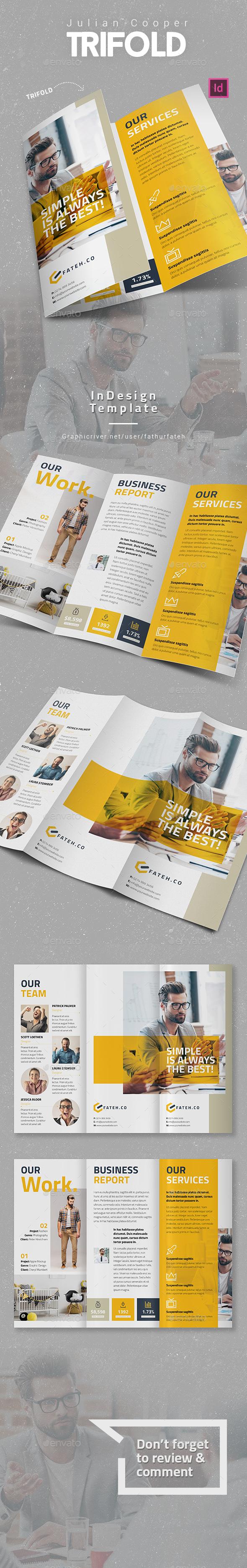 Julian Cooper Trifold - Corporate Brochures
