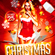 Christmas Party Flyer V3 - GraphicRiver Item for Sale