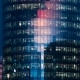 Beautiful Timelapse Of The Office Building Skyscraper From Day To Night - VideoHive Item for Sale