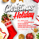 Christmas Holiday Flyer V2 - GraphicRiver Item for Sale