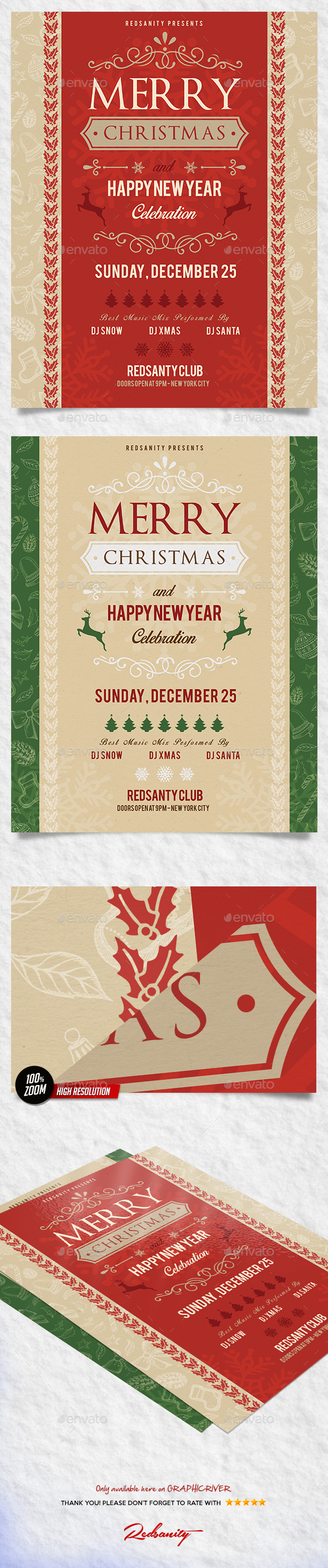Christmas Flyer V2 - Holidays Events