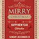 Christmas Flyer V2 - GraphicRiver Item for Sale