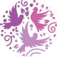 Happy Birds Logo Template - GraphicRiver Item for Sale