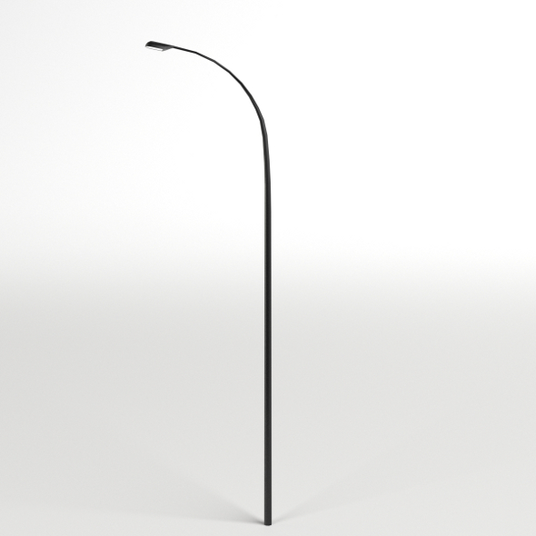 Single Street Lamp - 3DOcean Item for Sale