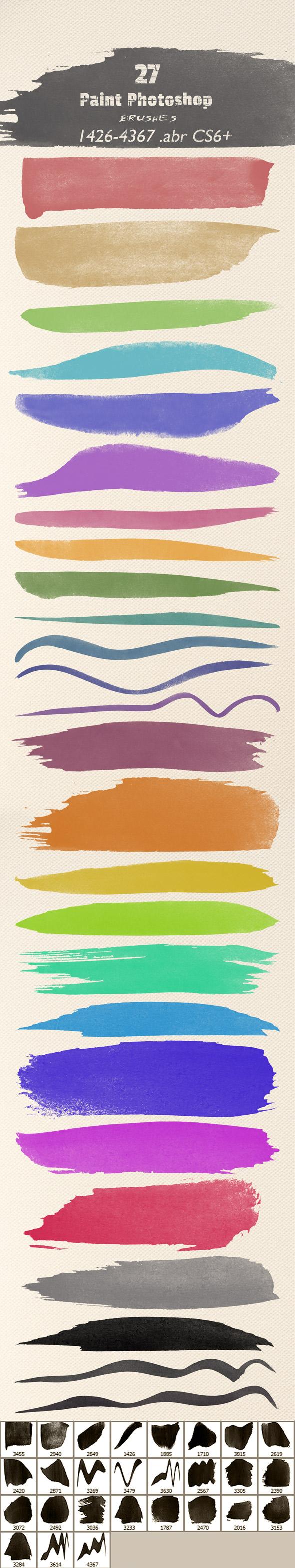Art Paint Brushes - Artistic Brushes