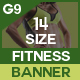 Health And Fitness Banners