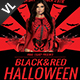 Black & Red Halloween V01 - GraphicRiver Item for Sale