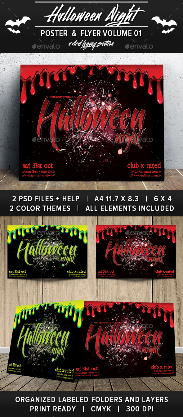 Halloween Night V01 - Events Flyers