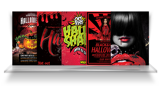 Halloween Flyer Collection