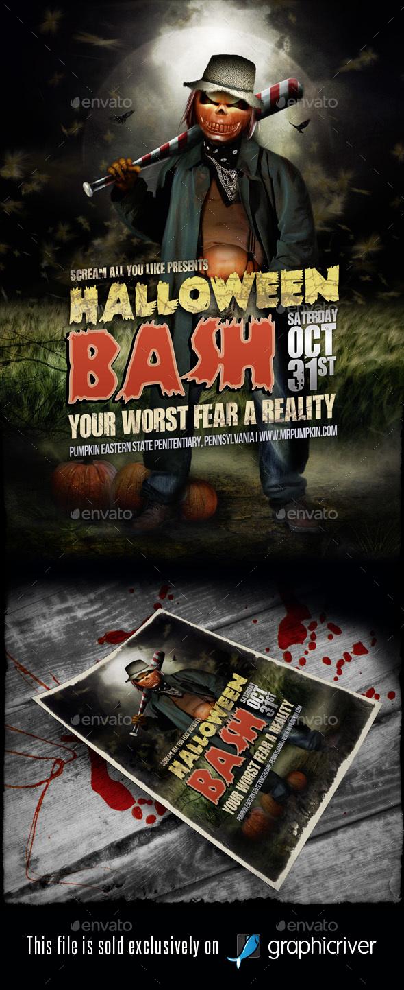 Halloween Flyer/Poster Vol.01 - Events Flyers