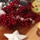 Beautiful Christmas Table With Cookies, Decorated With Mountain Ash. - VideoHive Item for Sale