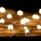 Tea Candles Burning At Night - VideoHive Item for Sale