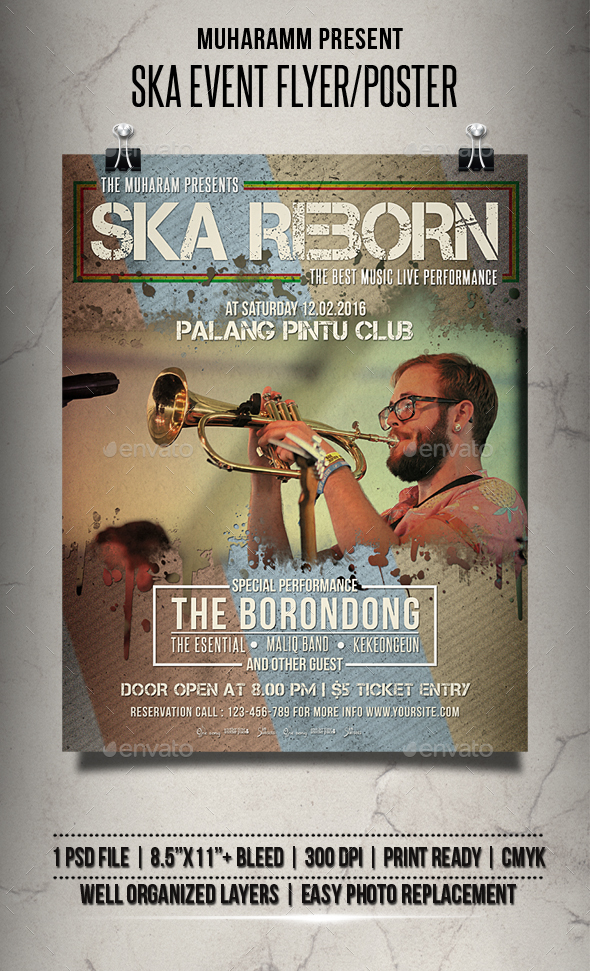 Ska Event Flyer / Poster - Events Flyers